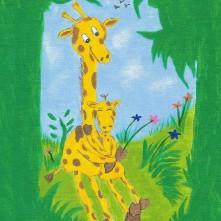 Mama & Baby Giraffe...Feb, 2006