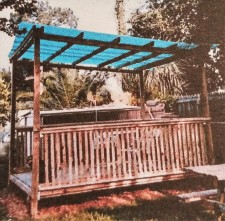Gazebo..built 1986 by Jessie