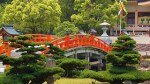 Japan, garden, bridge
